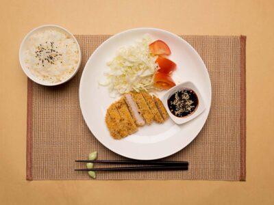 Baked Tonkatsu (serves 2)