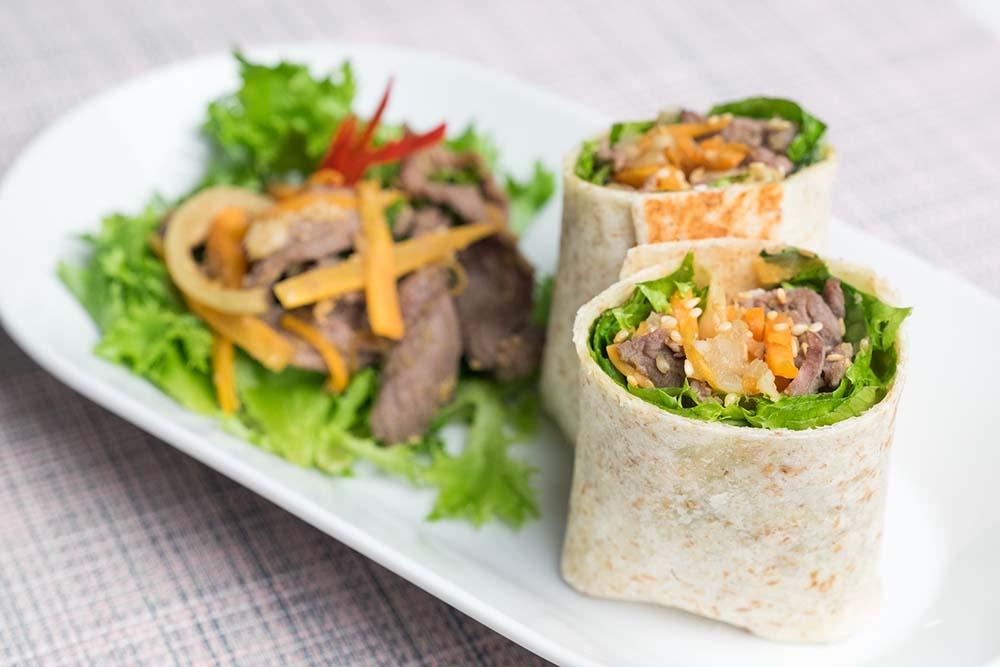 Bulgogi Beef Wrap