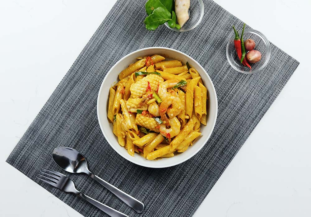 Shop Creamy Tom Yam Penne Meal Kit online in Singapore