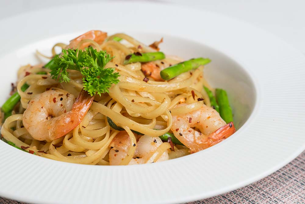 Shop Wafu Prawns Pasta with Asparagus Meal Kit online in Singapore