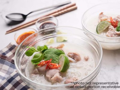 Cheater Chicken Pho (serves 2)