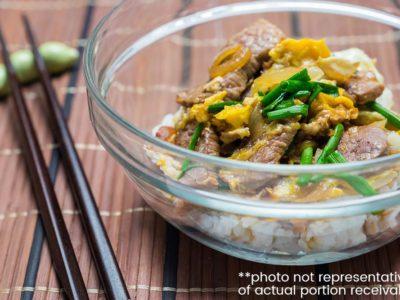 Gyudon (Japanese Beef Bowl) (serves 2)