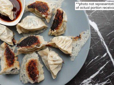 Crispy Crackling Pork Dumplings (serves 2)