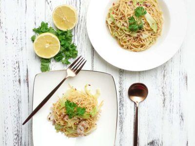 Miso Butter Pasta (serves 2)