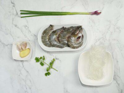 Stir Fry Prawns Tang Hoon (serves 2)