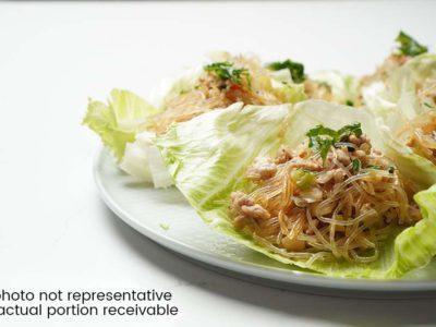 Pork & Glass Noodles Lettuce Wrap (serves 2)