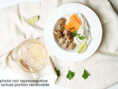 Vietnamese Chia Chicken Noodle Salad (serves 2)
