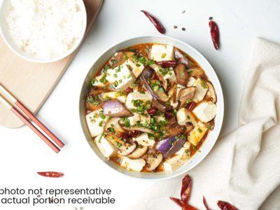 Vegetarian Mapo Tofu (serves 2)