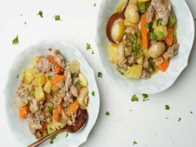 Chicken Stew (serves 2)