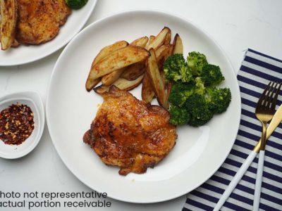 Apricot Chicken Legs (serves 2)