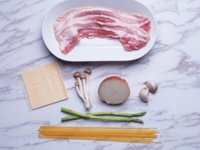 Creamy Bacon One Pot Pasta (serves 1)