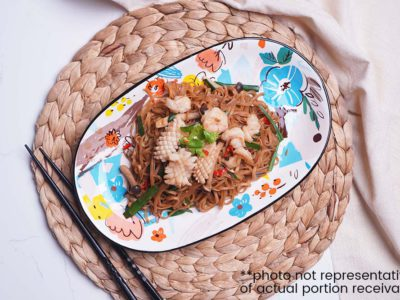 Seafood Ee-fu Noodles (serves 2)