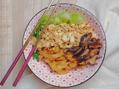 Handmade Vegan Noodles
