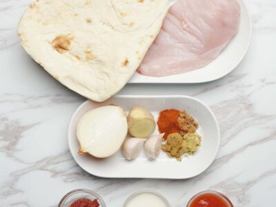 Butter Chicken with Naan (serves 2)