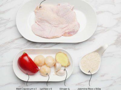 Lychee Chicken (Serves 2)