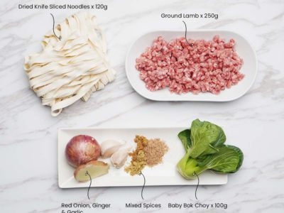 Spiced Lamb Noodles (Serves 2)