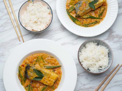 Sri Lankan Salmon Curry (Serves 1)