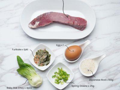 Teriyaki Beef Steak Rice Bowl (Serves 2)
