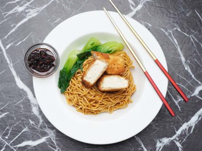 Tofu Cutlet Noodles (Serves 2)