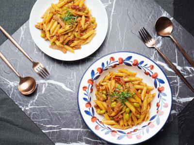 Vegan Tom Yam Pasta (Serves 1)