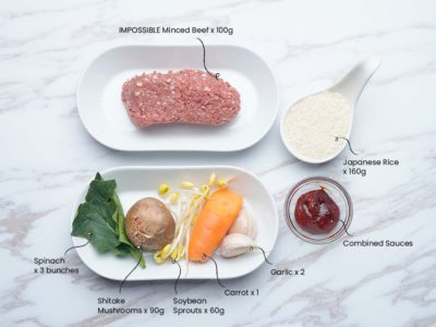 Vegan Bibimbap (Serves 2)