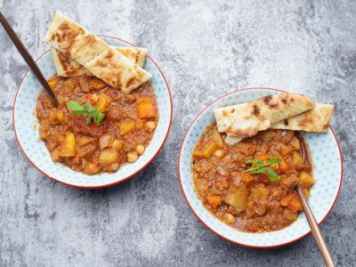 Vegan Moroccan Stew (Serves 2)