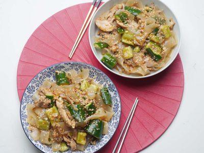 Sichuan Style Chicken Vermicelli Salad (Serves 2)