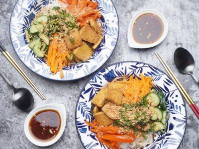 Vegan Vietnamese Noodle Salad (Serves 2)