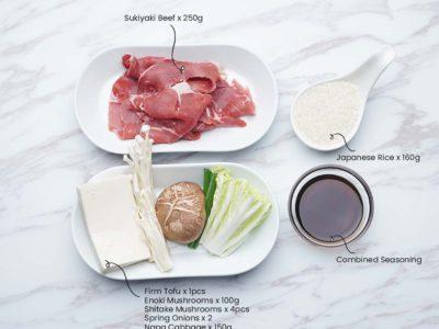Beef Sukiyaki (Serves 2)