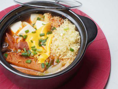 Budae Jjigae (Korean Army Stew) (Serves 2)