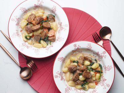 Vegan Tuscan Gnocchi (Serves 2)